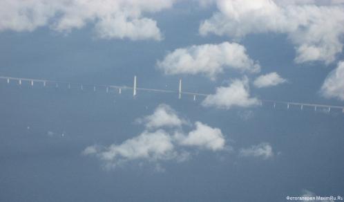 Мост в море - обои для рабочего стола