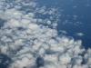 Под крылом самолета облака