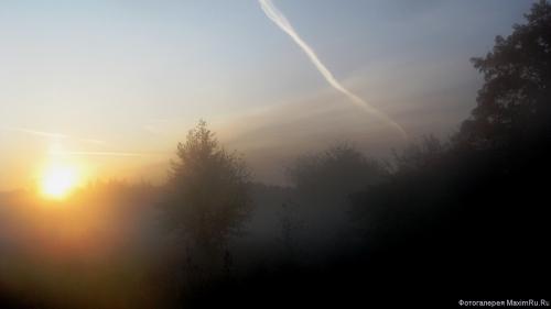 Обои Туманный восход